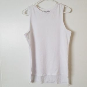 Zara White tank top